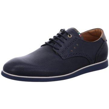 Pantofola d` Oro Eleganter Schnürschuh blau
