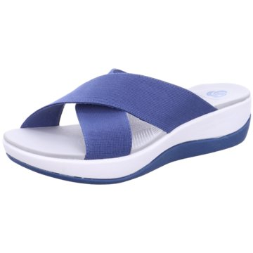 Clarks Komfort PantoletteArla Elin blau