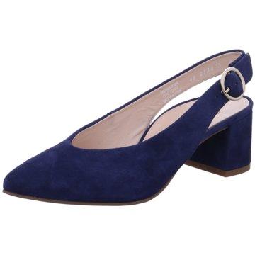 Paul Green Slingpumps blau