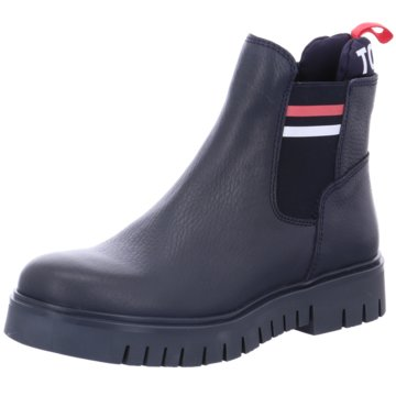 Tommy Hilfiger StiefelettePadded Tongue blau
