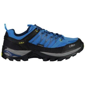 CMP Outdoor SchuhRIGEL LOW TREKKING SHOE WP - 3Q54457 blau