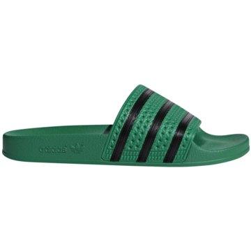 adidas BadelatscheADILETTE grün