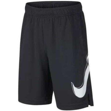 Nike Kurze Sporthosen schwarz