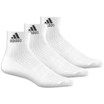 adidas Hohe Socken3-Streifen Performance Ankle Socken, 3 Paar - AA2285 -