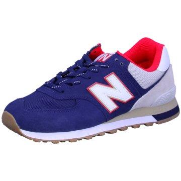 New Balance Sneaker LowML574 D - 819431-60 blau