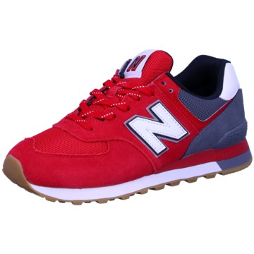New Balance Sneaker LowML574 D - 819431-60 rot
