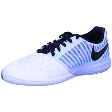 Nike HallenschuheLUNAR GATO II IC - 580456-440 weiß
