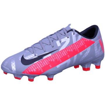 Nike Nocken-SohleNike Mercurial Vapor 13 Academy MG Multi-Ground Soccer Cleat - AT5269-906 lila