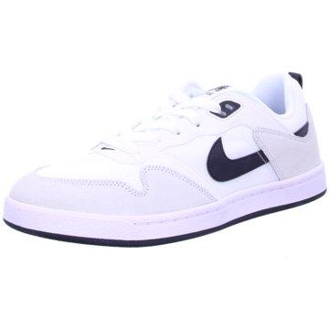 Nike Sneaker LowSB ALLEYOOP - CJ0882-100 weiß