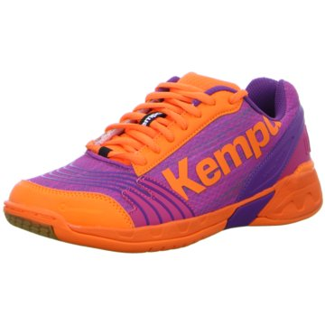 Kempa Hallenschuhe orange
