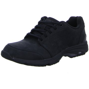 asics Outdoor Schuh schwarz