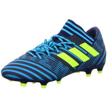 adidas Nocken-SohleNemeziz 17.3 FG Herren Fußballschuhe Nocken blau gelb blau