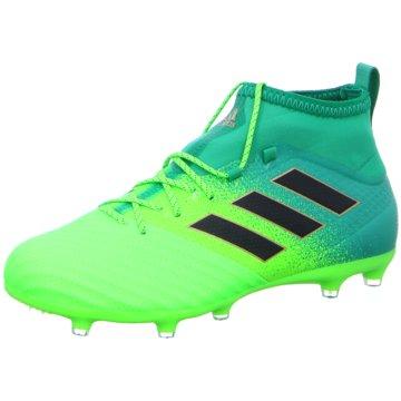 adidas Nocken-SohleAce 17.2 Primemesh FG Herren Fußbalsschuhe Nocken grün grün