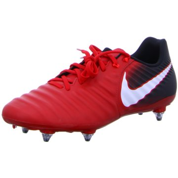 Nike Stollen-SohleTiempo Ligera IV SG rot