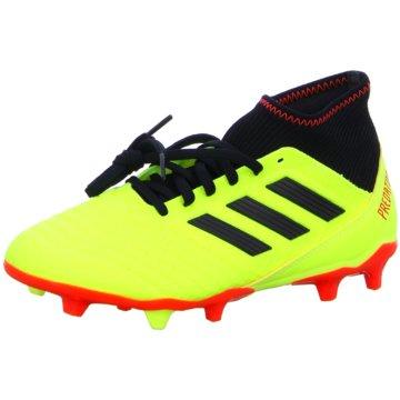 adidas Nocken-SohlePredator 18.3 FG Fußballschuhe gelb