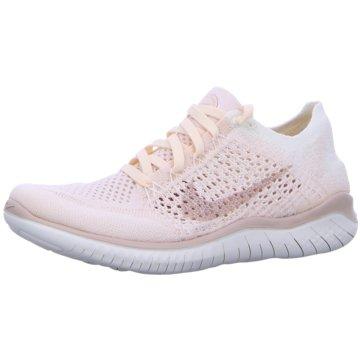 Nike RunningFree RN Flyknit 2018 Women rosa