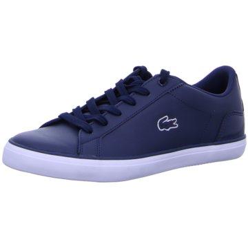 Lacoste Sneaker Sports blau