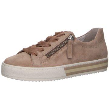 Gabor comfort Sneaker Low beige