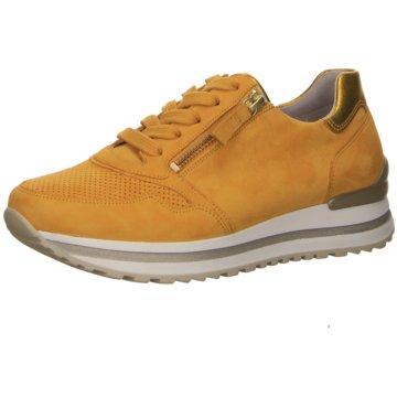 Gabor Plateau Sneaker gelb