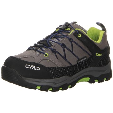 CMP Wander- & BergschuhKIDS RIGEL LOW TREKKING SHOES WP - 3Q13244J grau