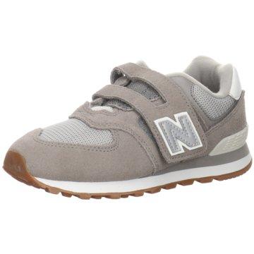 New Balance Klettschuh grau