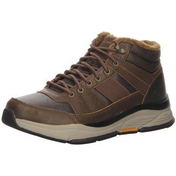 Skechers Komfort Stiefel braun