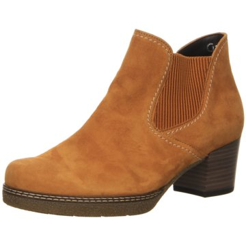 Ankle-Bootie gelb