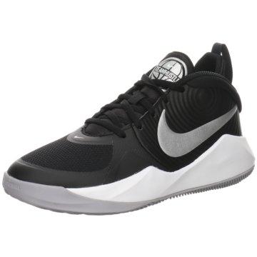 Nike Sneaker LowNike Team Hustle D 9 - AQ4224-001 schwarz