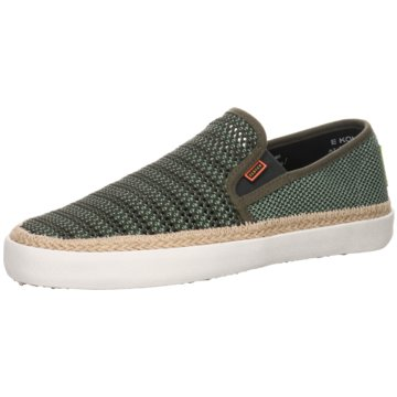 Scotch & Soda Espadrille grün