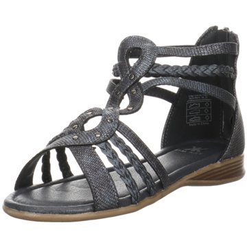 Kim Kay Offene Schuhe blau