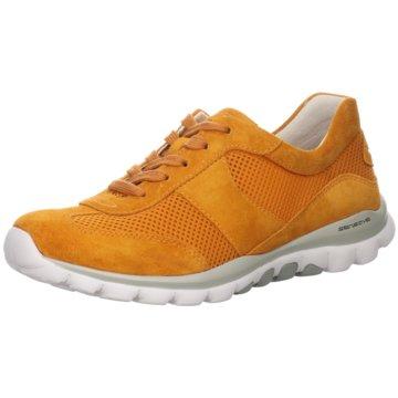Gabor comfort Komfort SchnürschuhSneaker orange