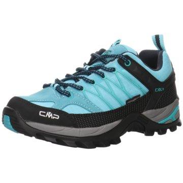 CMP Outdoor SchuhRIGEL LOW WMN TREKKING SHOE WP - 3Q54456 blau