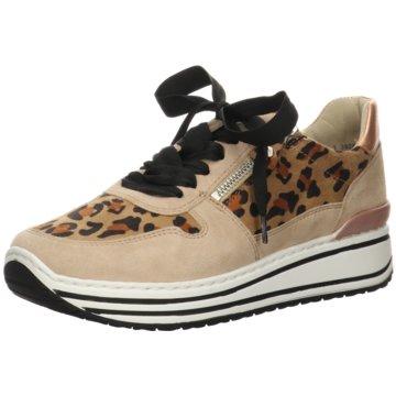 ara Plateau Sneaker beige