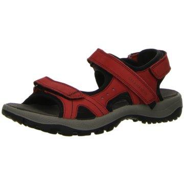Salamander Komfort Sandale rot