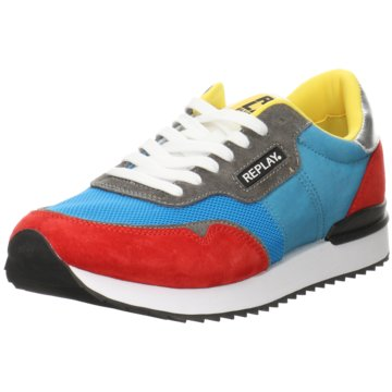 Replay Sneaker Low blau