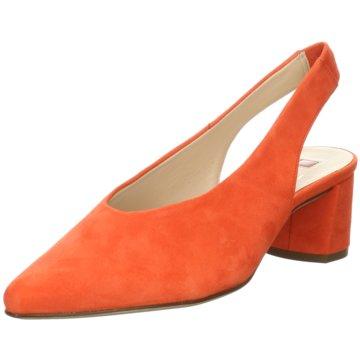 Högl Slingpumps orange