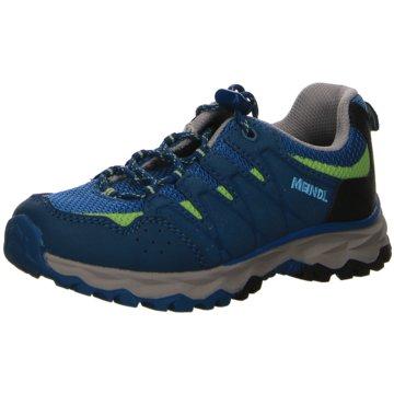 Meindl Sportlicher Schnürschuh blau