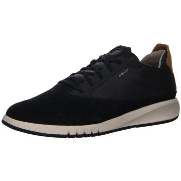 Geox Sneaker LowU AERANTIS A - SUEDE SMO.LEA blau