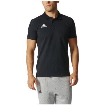 adidas PolosTiro 17 Cotton Polo schwarz