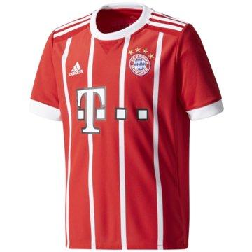 adidas Fan-TrikotsFC Bayern München Heimtrikot Kinder Home 2017/18 rot rot