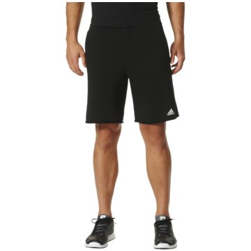 adidas Kurze HosenEssentials Raw-Edged Shorts Herren schwarz schwarz