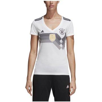 adidas Fan-TrikotsDFB Deutschland Heimtrikot Damen Home Jersey WM 2018 weiß weiß