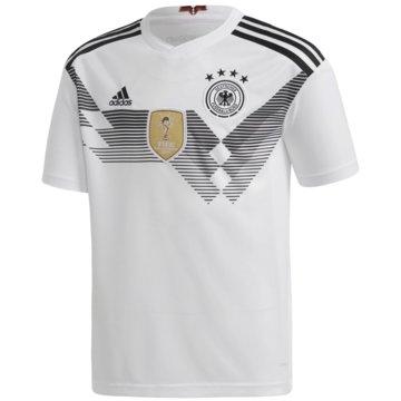 adidas Fan-TrikotsDFB Deutschland Heimtrikot Kinder Home WM 2018 weiß weiß