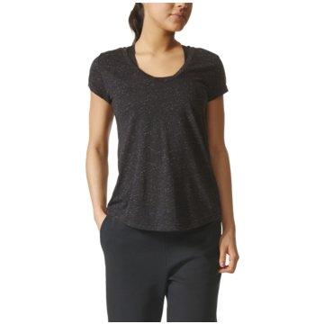 adidas T-ShirtsWinners Tee Damen Trainingsshirt schwarz grau