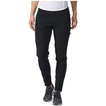adidas Lange HosenZNE Slim Pant Damen Hose schwarz schwarz