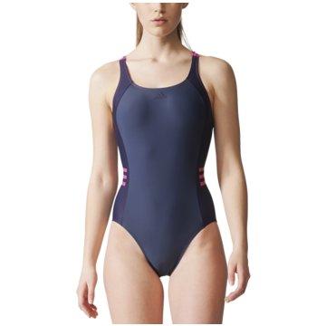 adidas BadeanzügeOcc Swim Infinitex Colourblock Badeanzug Damen blau lila blau
