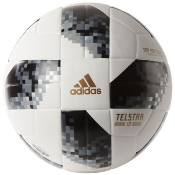 adidas FußbälleTelstar Top Replique Trainingsball WM 2018 weiß schwarz -