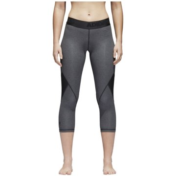 adidas TightsAlphaskin Sport 3/4 Tight Women grau