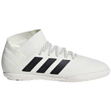 adidas Hallen-SohleNemeziz Tango 18.3 Indoor weiß