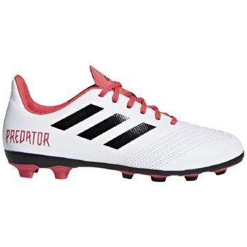 adidas Nocken-SohlePredator 18.4 FG Fußballschuh weiß